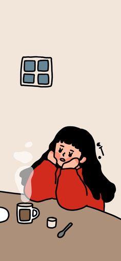 [일러스트]아이폰x 배경화면 공유! /아이폰 배경화면/그림그리는방 : 네이버 블로그 Sassy Wallpaper, Cute Pastel Wallpaper, Cute Anime Wallpaper, Wallpaper Iphone Disney, Cute Wallpaper Backgrounds, Cute Cartoon Wallpapers, Aesthetic Iphone Wallpaper, Art Antique, Cartoon Art Styles