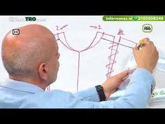 COMO HACER DIFERENTES MODELOS DE BLUSA CON PIVOTE O TRASLADO DE PINZA/ PARTE 2. - YouTube