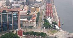Segurança do Boulevard Olímpico, na Zona Portuária, terá 1,4 mil câmeras