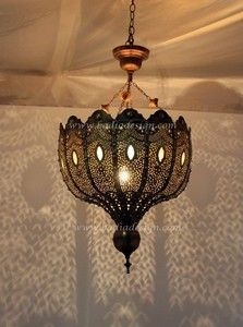 Moroccan Brass Chandelier with White Glass from Badia Design Inc. Moroccan Chandelier, Moroccan Pendant Light, Moroccan Lighting, Moroccan Lamp, Silver Chandelier, Moroccan Lanterns, Unique Lighting, Moroccan Style, Vintage Lighting