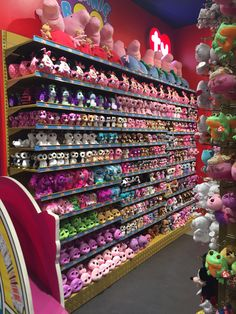 Loads of ty things in Hamleys