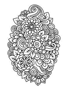 Zinnia Coloring Pages - Best Coloring Pages For Kids Rose Coloring Pages, Printable Flower Coloring Pages, Blank Coloring Pages, Free Printable Coloring Sheets, Abstract Coloring Pages, Butterfly Coloring Page, Printable Adult Coloring Pages, Colouring, Free Online Coloring