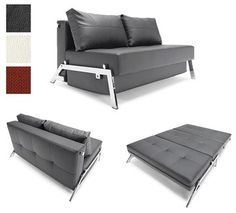 Innovation Living Cubed Sofa Bed ~ endless search for  the perfect couch/sofa bed might be over!