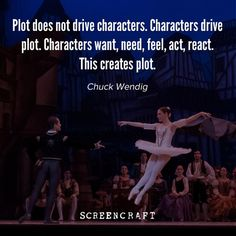 """522 Likes, 8 Comments - ScreenCraft (@screen_craft) on Instagram: """"Authentic storytelling emerges naturally from character, rather than plot. #writing #screenwriting…"""""""