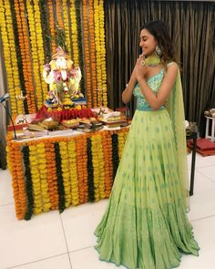 Style File : Style your festive look with a vivacious flair like Krystle Dsouza in Salian by Anushree WhatsApp us now for personal shopping experience! Bollywood Dress, Bollywood Fashion, Krystal Dsouza, Celebrity Books, Celebrity Style, Trendy Suits, Anarkali Gown, Indian Tv Actress, Bridal Lehenga Choli