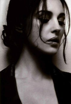 Monica Bellucci  She looks so vulnerable in this photo!