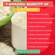 Filtur health, vitamin and supplement image section Protein Sources, Natural Sugar, Whey Protein, Amino Acids, Benefit, Vitamins, Lose Weight, Healthy, Amazing