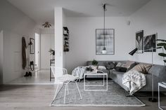 Stylish attic home - via Coco Lapine Design