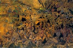 max ernst paintings   max ernst explosion dans une cathedrale oil on canvas 130 x 195 cm max ...