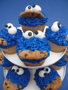Cook Monster Cupcakes
