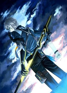 This Ludger picture captures the dark feeling present throughout a lot of the game.
