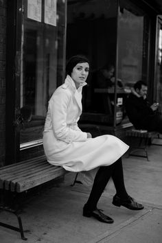 Black and White : On the Street…..Greenwich Ave., New York