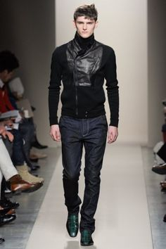 Bottega Veneta <3. I would love to see this sweater in where the textiles are backwards too. love the shoes.
