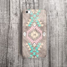 PINK iPhone 5C Case Faux Wood iPhone 5C Case by casesbycsera, $19.99