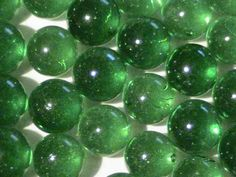 Mosaic Tiles 99 Green Glass Bubble Gems Round Marble Craft Jewelry FREE SHIPPING
