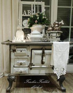 ❥ vintage stove