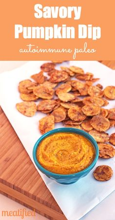 Savory Pumpkin Dip from http://meatified.com #paleo #whole30 #autoimmunepaleo