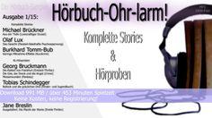 Hörbuch-Ohr-larm!: AUSGABE 1 endlich verfügbar!:-)