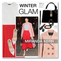 """WINTER GLAM"" by nanawidia ❤ liked on Polyvore featuring Ally Fashion, Warehouse, Tara Jarmon, Gianvito Rossi, Miu Miu, Barry M, Smashbox and Boohoo"
