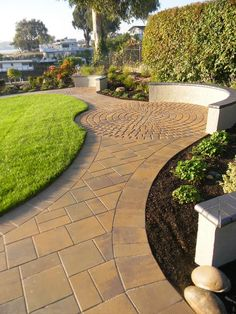 Decided you want to install pavers in your outdoor project? Now you need to decide on the style you want! Take a look at this guide for some help: http://homeandgardenconstructiongroup.com/blog/the-ultimate-guide-to-paver-styles/ #paver #stones #style #outdoors #backyard