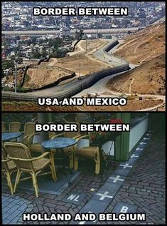 Borders Between Countries