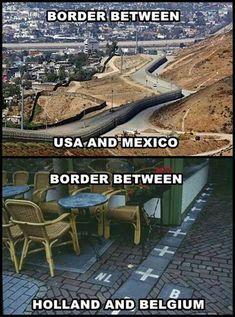 Borders Between Countries