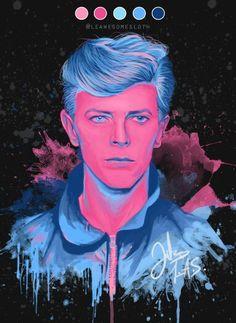David bowie / indigo art ...