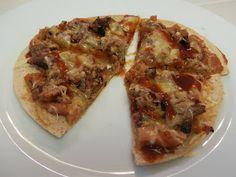 Shelly's Cowboy Tortilla Pizza