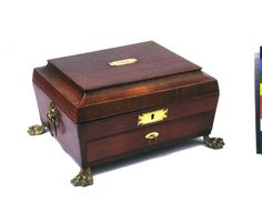 Work box, ca. 1815 | In the Swan's Shadow