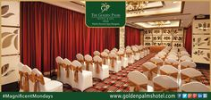 Feast your business meetings with ultra modern amenities and warm hospitality at Golden Palms Hotel & Spa, Delhi Visit www.goldenpalmshotel.com for details. #MagnificentMondays