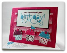 It's a Cupcake Kinda Birthday by nwt2772 - Cards and Paper Crafts at Splitcoaststampers