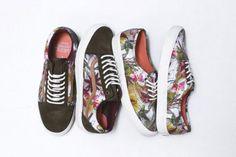 VANS CALIFORNIA FLORAL CAMO PACK #sneaker