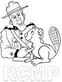 Canadian Coloring Pages