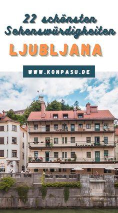 Die 22 schönsten Sehenswürdigkeiten in Ljubljana, die Du einmal sehen musst! Plane deine Reise mit unserer Liste, einschließlich Reisetipps! Broadway Shows, Hotels, Nightlife, Day Trips, Old Town, Travel Inspiration