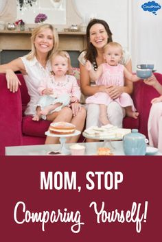 Are you feeling intimidated by other moms? Mom competition is something every mom struggles with. Here are some helpful tips to stop comparing yourself!