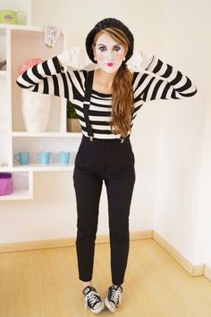 mime makeup - Google-haku