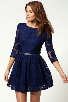 Apparently this style is called a 'skater dress'