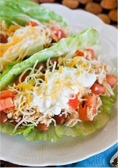 Slow-Cooker Chicken Tacos -- Recipe and Photo by Blogger, Christi Johnstone of www.lovinfromtheoven.com