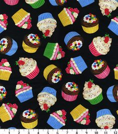 Novelty Quilt Fabric-Cupcakes: novelty quilt fabric: quilting fabric & kits: fabric: Shop | Joann.com