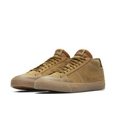 watch 61ad7 4b4f3 Nike SB Zoom Blazer Chukka XT Premium Skateboarding Shoe - Brown