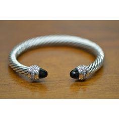 Authentic David Yurman Cable Classics Sterling Silver Bangle