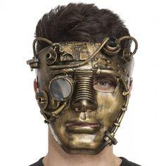 Masque Steampunk #masquesdéguisements #accessoiresdéguisements #accessoiresphotocall