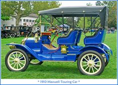 1910 Maxwell Touring Car authorBryanBlake.blogspot.com