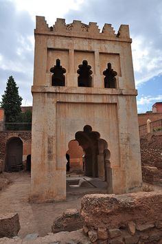 Almoravid Koubba. Marrakech.