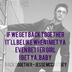 Back Together - Jesse McCartney lyrics I Still Love Him, Love You So Much, Song Quotes, Music Quotes, Music Lyrics, Music Songs, Jesse Mccartney, Song Artists, Getting Back Together