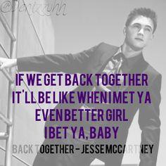 Back Together - Jesse McCartney lyrics