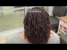 Technique| Two Strand Twist Extensions {how to} - YouTube