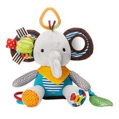 Skip Hop Baby Bandana Buddies Multi-Sensory Soft Plush Toy, Elephant *** Read more @ Animal Activities, Infant Activities, Family Activities, Skip Hop Unicornio, Pet Toys, Baby Toys, Bandana, Bb Reborn, Baby Jogger