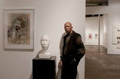 Florida A&M alum Lev T Mills is a sculptor, painter and installation artist.  He is an art professor at Spelman and created the design for the  Coretta Scott King Book Award