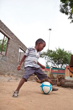 This Boy Has Given Away More Than 4,000 Soccer Balls To Kids In Need Around The World